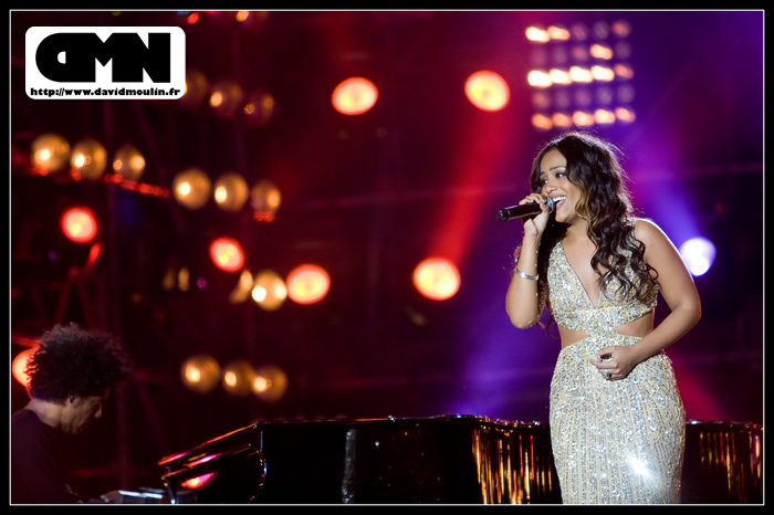 Amel Bent @ Paris 2008