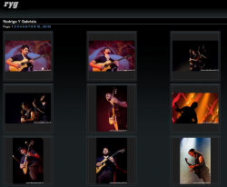 Galerie photo - site officiel Rodrigo y Gabriela