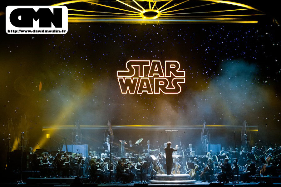 Star wars in concert @ Bercy